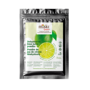 Miski Goodfoods dehydrated lime juice powder