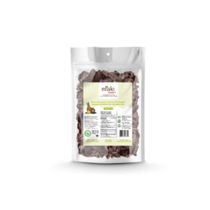 A bag of Miski Organic Dark Chocolate Covered Pineapple